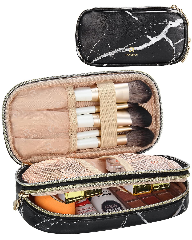 MONSTINA OFFicial store Makeup Bag Cosmetic Dual Layer Brush famous