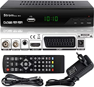 Strom 505 Decoder Digitale Terrestre DVB T2 / HDMI / DVB T2 HEVC / Full HD Ricevitore TV / Registratore USB / Decoder PVR ...