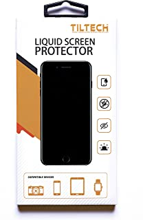 TILTECH Nano Liquid Glass Screen Protector for All Smart Phones, Tablets, Glass Screens - Scratch Resistant Invisible Armor