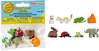Safari Ltd. Good Luck Minis Collection - Lucky Figurines Fun Pack 8 Pieces - Non-toxic and BPA Free