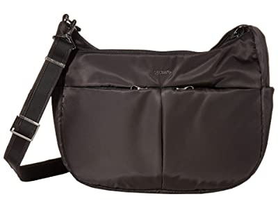 Pacsafe Cruise Carry All Crossbody (Black) Handbags