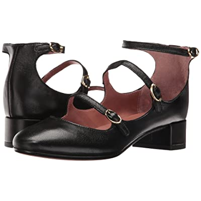 Summit by White Mountain Myrlie (Black Leather) Women