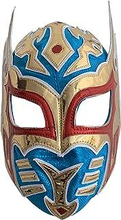Sin Cara Hunico Semi-Professional Lucha Libre Mask Adult Size Luchador Wrestling Mask Blue...