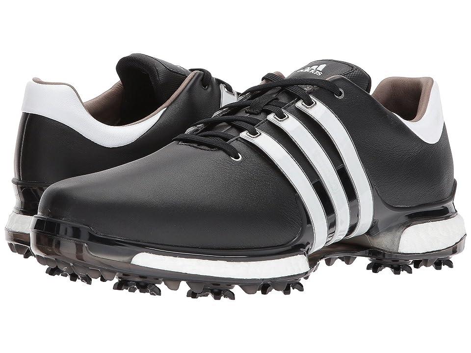 adidas Golf Tour360 2.0 (Core Black/Footwear White/Core Black) Men's Golf Shoes