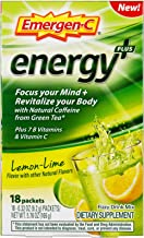 Emergen-C Energy+, With B Vitamins, Vitamin C And Natural Caffeine From Green Tea (18..