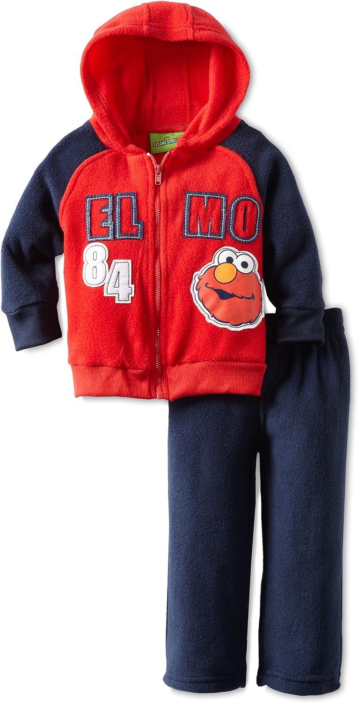 Sesame Street Elmo Hoodie and Pants Set Red//Grey