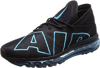 Nike Mens Air Max Flair Black Turquoise, Black/Neo Turquoise-Black, Size 9.0