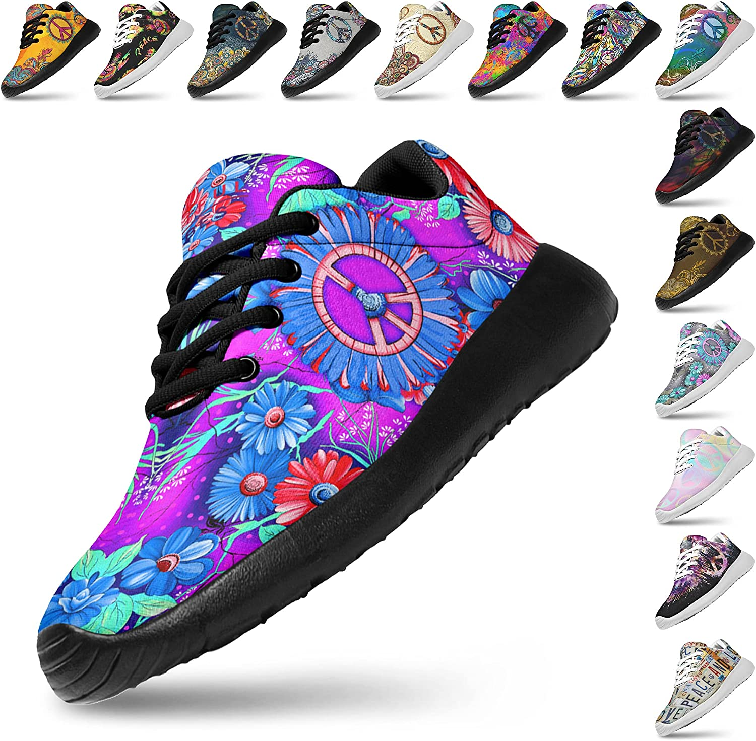 Artful Vibes Womans Lightweight Athletic Jogging Now free shipping Sneaker Free shipping Fashion