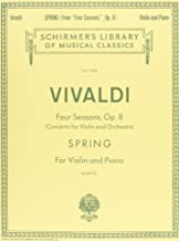Spring: Schirmer Library of Classics Volume 1934 Violin and Piano