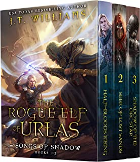 The Rogue Elf of Urlas: Songs of Shadow (Half-Elf Chronicles Boxset Book 1)