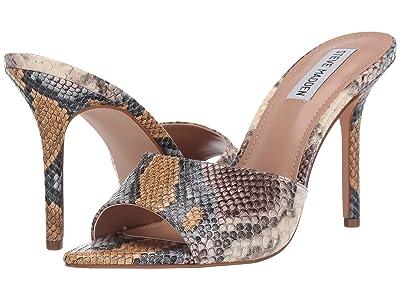Steve Madden Feisty Heeled Sandal (Snake) Women