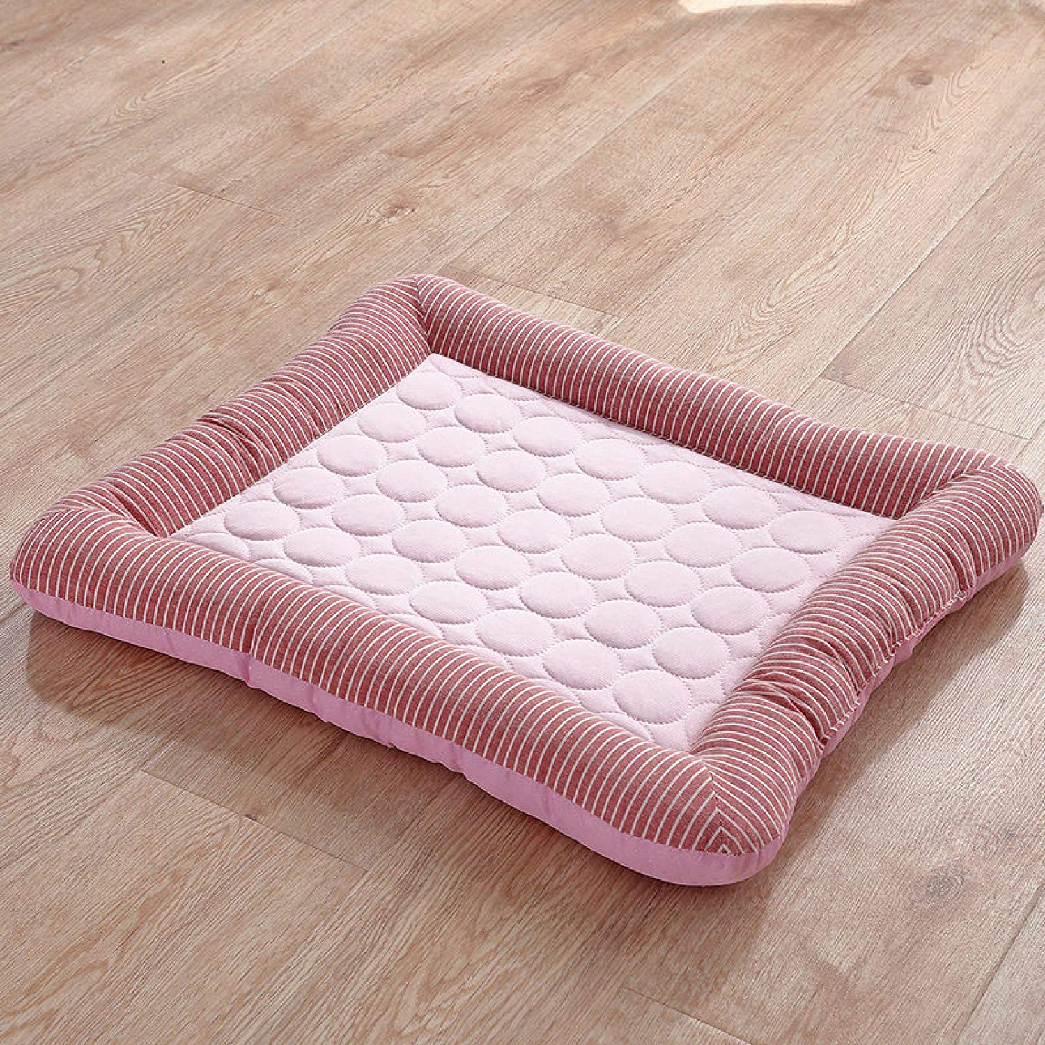 Dog Bed Cooling Mat Pet Max 41% OFF Pad Mattress Oakland Mall Breathable Cool Ice