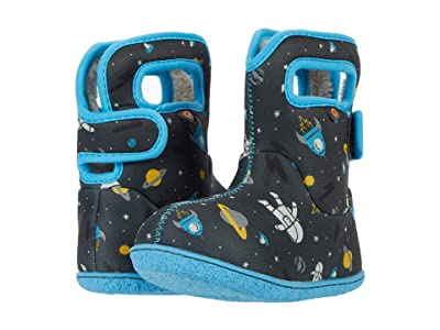 Bogs Kids Baby Bogs Spaceman (Toddler) (Dark Gray Multi) Boy