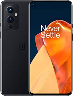 OnePlus 9 Astral Black, 5G Unlocked Android Smartphone U.S Version, 8GB RAM+128GB Storage,120Hz Fluid Display, Hasselblad ...