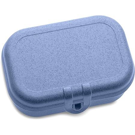 Koziol 3158671, Breakfast Box, Lunch to go, Meal Prep, Organic Blue, S