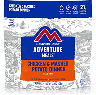 Mountain House Chicken & Mashed Potato Dinner Gluten| Freeze Dried Backpacking & Camping Food | Survival & Emergency Food...