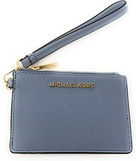 Michael Kors Jet Set Travel Top Zip Coin Pouch ID Card Case Wallet Wristlet