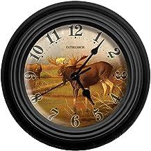 Reflective Art Intruder Wall Clock, 10-Inch