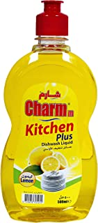 Charmm Dishwashing Liquid Lemon 500ML
