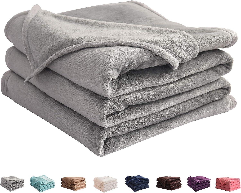 LIANLAM New Free Shipping Throw Size Fleece Blanket Super All Alternative dealer Lightweight and Soft
