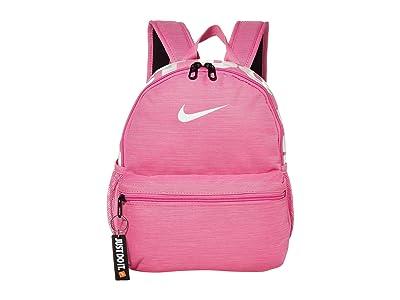 Nike Kids Brasilia JDI Mini Backpack (Little Kids/Big Kids) (China Rose/China Rose/White) Backpack Bags