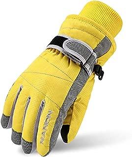 TRIWONDER Ski Gloves for Kids - Windproof Snowboard...
