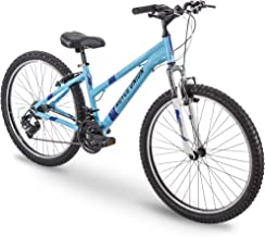 huffy men's highland 26 mountain bike silver blue