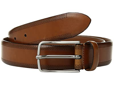 Johnston & Murphy Edge Perf Embossed (Tan) Men