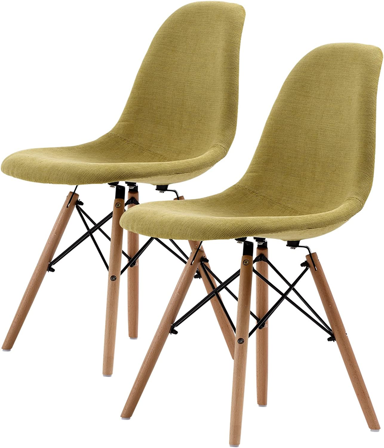 Replica Eames DSW Dining Chair - GREEN X2