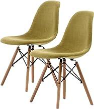 La Bella Replica Eames DSW Dining Chair - Green X2