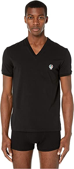 Sport Crest V-Neck T-Shirt