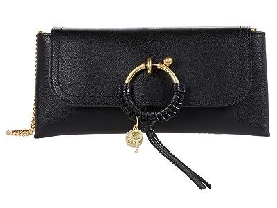 See by Chloe Joan Clutch (Black) Handbags