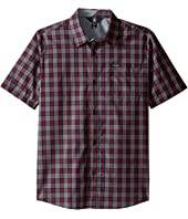 Volcom Kids - Amerson Short Sleeve Woven Top (Big Kids)