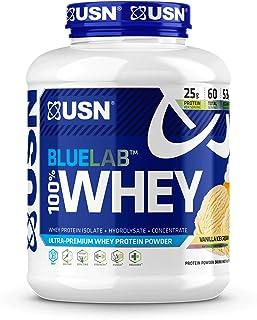 Sponsored Ad - USN Supplements Bluelab 100 Percent Whey, Vanilla, 4.5 Pound