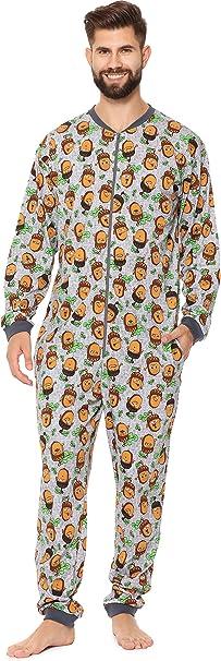 Cornette Pijama Entero para Hombre CR-196