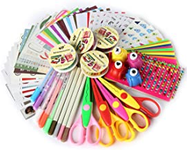 SiCoHome Scrapbook KitScrapbooking Supplies for Teen Girls Scrapbooking and Card MakingDeluxe Set