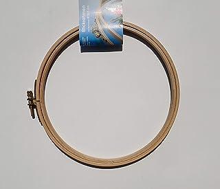 Prym 8 mm x 19 cm poliert Buche Holz Stickerei Rahmen mit Schraube