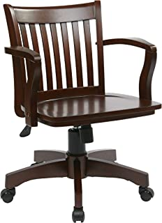 Best deluxe wood bankers chair Reviews