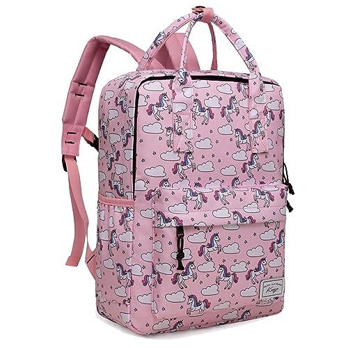 412485f7378 Backpack for Little Girls, Kasgo Preschool Toddler Backpack for Kindergarten  Children Lightweight Daypack Bookbag with