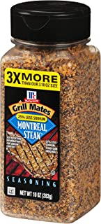 McCormick Grill Mates 25% Less Sodium Montreal Steak Seasoning, 10 oz