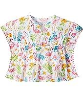 Flamingo Ruffle Swimsuit Cover-Up (Infant/Toddler)