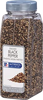 McCormick Culinary Cracked Black Pepper, 1 lb