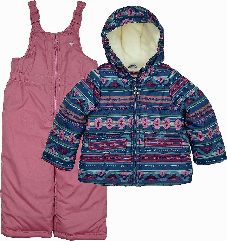 OshKosh B'Gosh Girls' 爆買い新作 Ski Jacket and Set Outfit Snowsuit ついに入荷 Snowbib