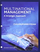 Bundle: Multinational Management, Loose-Leaf Version, 7th + MindTap Management, 1 term (6 months) Printed Access Card