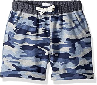 Mud Pie Baby Boys Camo Pull on Elastic Waist Shorts