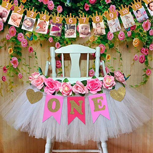 EVAIL 1st Birthday Party Decorations Pack