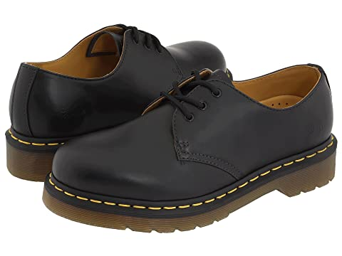 Cheap Excellent Dr. Martens 1461 3-Eye Gibson Black Smooth 2018 New Cheap Online Low Cost Cheap Online Cost Cheap Online Buy Cheap Best Seller cnoRy