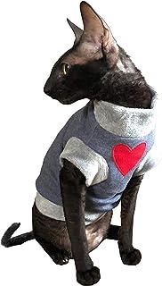 Kotomoda Ropa para Gatos Jersey de algodón ILoveYou (XL)