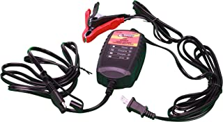 WirthCo 20069 Battery Doctor Black CEC Certified Sport Battery Charger and Maintainer (12V, 1.25 Amp)