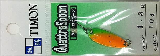 JACKALL(ジャッカル) スプーン ティモン クワトロスプーン 24.9mm 1.3g マエチンオレンジ #104
